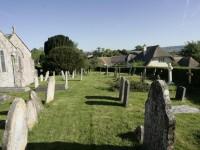 The churchyard