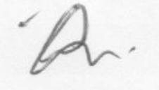 Clerk Signature